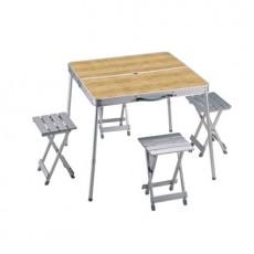 코베아 우드 알루미늄 테이블 4인용 /KN8FN0101