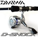 [다이와] 디쇼크(D-Shock) 2볼 베어링 로드 + 릴콤보